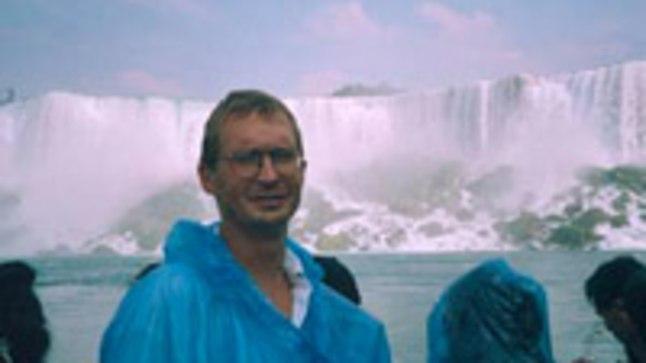 ÜLE AASTATE RAHUL: Jüri Jaanson Niagara joa taustal, olümpianorm MMi 7. kohaga täidetud ja uued sihid silme ees.