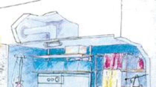 KUI EI SAA TUBA, TEE KAPP: Selline koduhoiunurgake mahub ka kitsamasse korterisse.