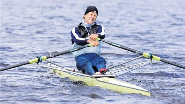 VÕITJA: Leonid Gulov liigub Pärnu jõel kevadise tähtsa võidu poole.