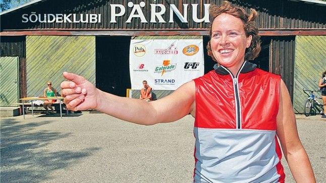SÕUTAKSE EDASI: Tatjana Jaansonile jääb koht, kus oma olümpiamedaliste ja Euroopa meistreid treenida.