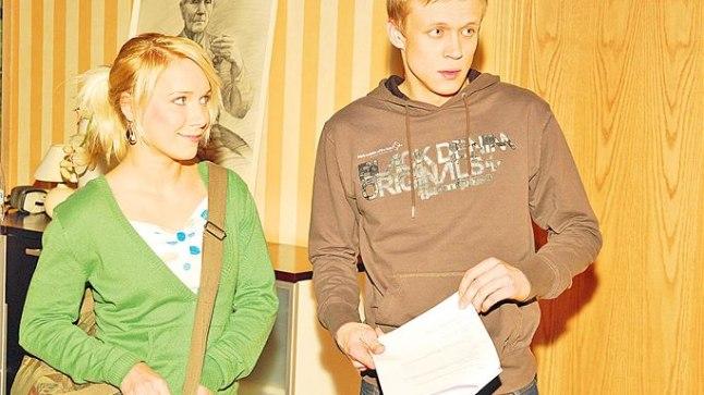 NÄITLEJA LENNA: Lenna seriaalis «Kodu keset linna».