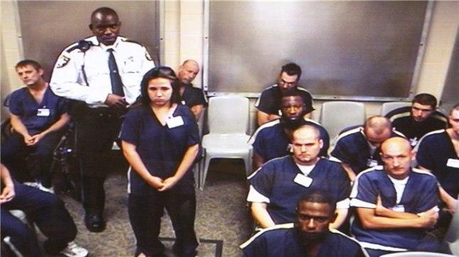 Jennifer Mee kohtusaalis