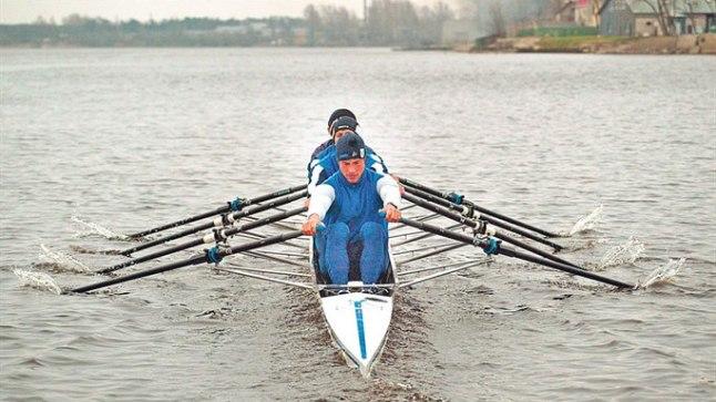 JÄLLE KOOS: Andrei Jämsä (ees) ja Tõnu Endrekson (tema taga) istusid viimati neljapaadis koos 2006. aastal, siis küll teiste partneritega. Mida toob nüüd alanud uus ring?
