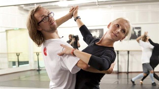 TÄITSA SPORT!: Märt Aguga koos treenides on Veronika Portsmuth aru saanud, et kuigi tants ei näi spordina, on see tegelikult suur füüsiline pingutus.