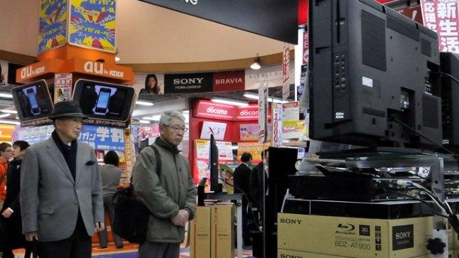 Sony korjab vigased televiisorid müügilt.