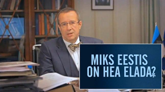 NÄHKE HEAD! President innustab inimesi nägema Eestis rohkem häid kui halbu asju.