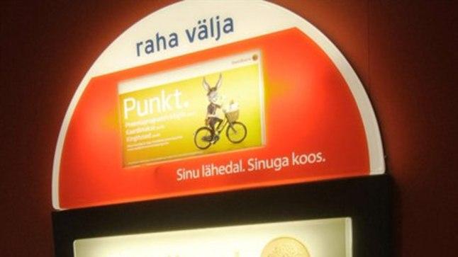 Sularahaautomaat jääb Virtus kuni järgmise aastani, lubab pank.