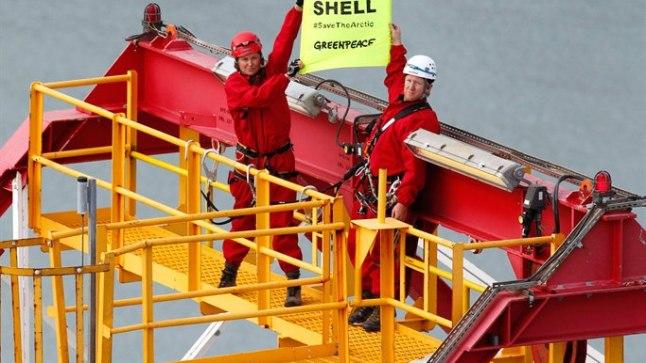Lucy Lawless avaldas meelt nafta puurimise vastu Põhja-Jäämeres.