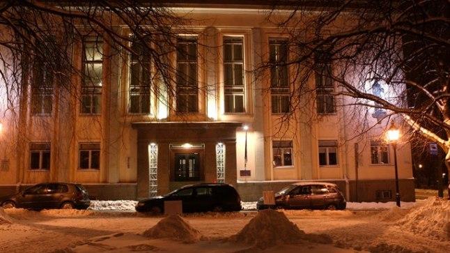 Tartus asuv haridus- ja teadusministeerium.