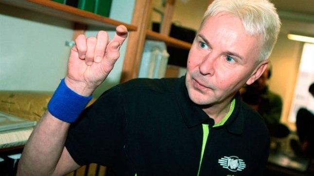 Võrreldes selle 2008. aasta fotoga on Matti Nykänen mõnevõrra kosutunud.