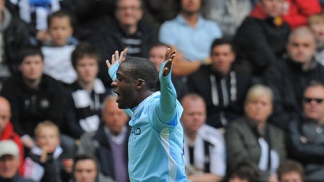 City kangelane Yaya Toure