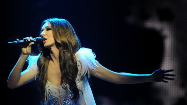 Aserbaidžaani esineja Sabina Babayeva