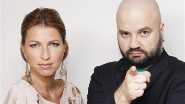 """""""Eesti otsib superstaari"""" viienda hooaja kohtunikud Maarja ja Mihkel Raud. Kes istub aga kolmandana kohtunikulaua taha, on veel lahtnine."""