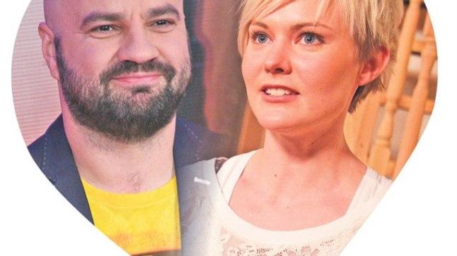 ARMUNUD JA KOOS?: Näitlev juuksur Liina Vahter (24) ja saatejuht Mihkel Raud (43) olla kuulu järgi uus paar.