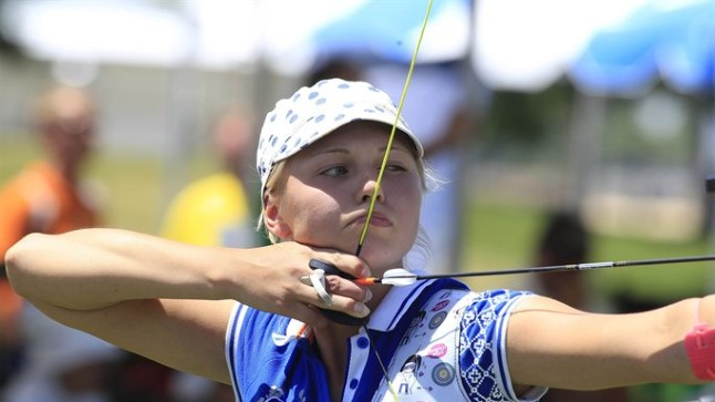 PESAMUNA: 18aastane Reena Pärnat on Eesti olümpiakoondise noorim liige.