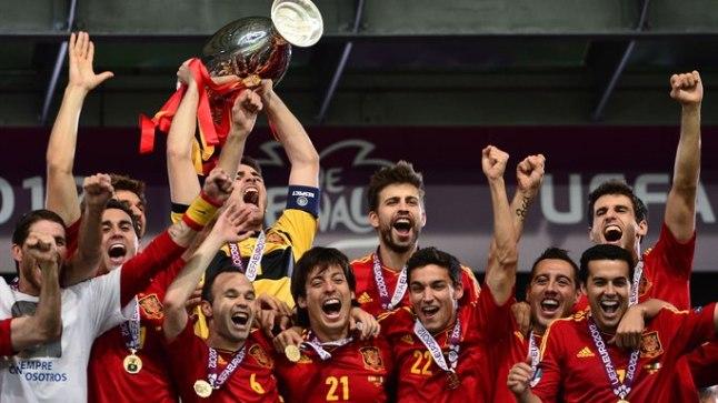 Hispaania jalgpalli Euroopa meistriks saades