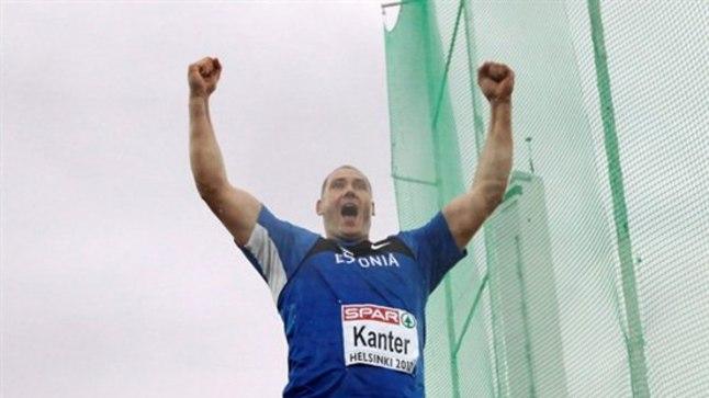 Gerd Kanter oli ka hõbeda üle õnnelik