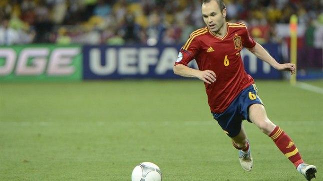 Andres Iniesta - 2012. aasta EM-i parim mängija.