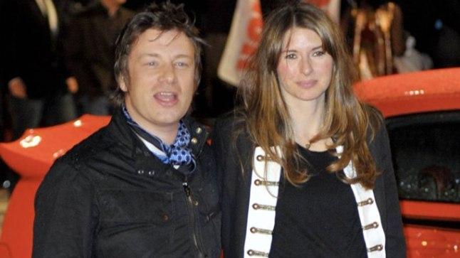 Jools ja Jamie Oliver