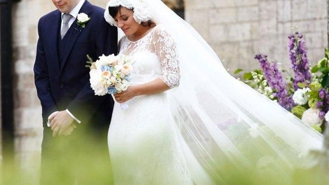 Lily Allen ja Sam Cooper abiellusid mullu juunis.