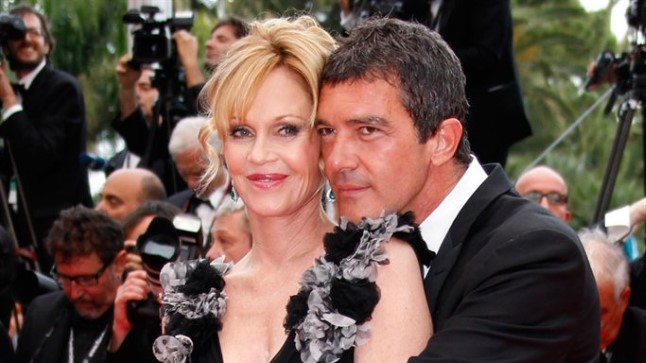 Melanie Griffith ja Antonio Banderas