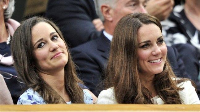 Pippa ja Kate Wimbeldoni tenniseturniiril