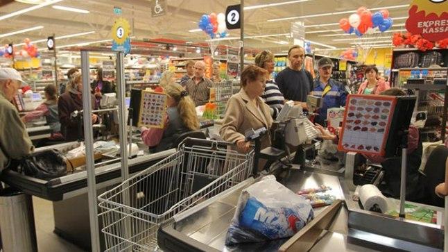 Maxima kaupluse avamine Maardus 13. juunil 2012.