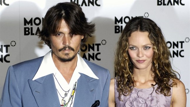 Johnny Depp ja Vanessa Paradis