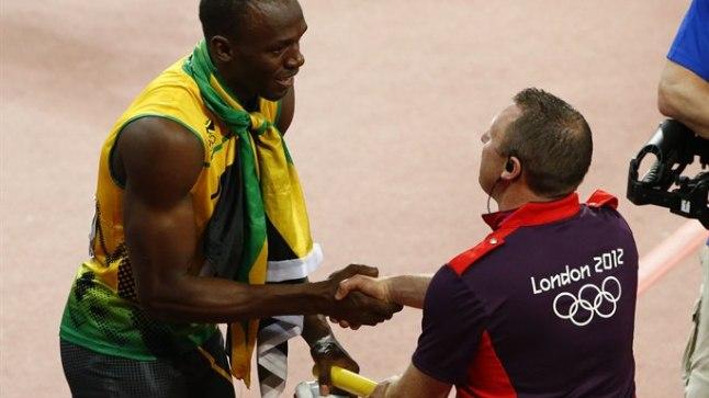 Bolt sai lõpuks oma tahtmise ja sai teatepulga endale.