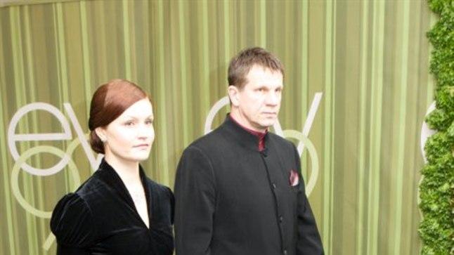 Hannes Kaljujärv abikaasa Keiuga.