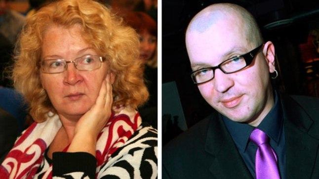 Yana Toom ja Juku-Kalle Raid. Riigikogu liikmed.