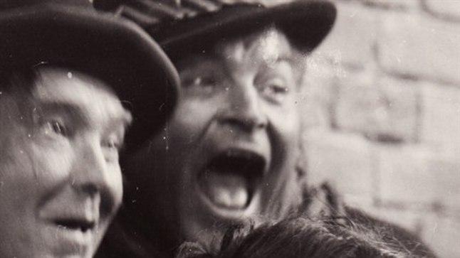 1971. aastal viimases rollis kõrtsitüdrukuna filmis «Metskapten» (pildil koos Heino Mandri ja Rein Areniga).