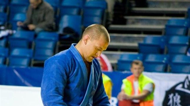 Eesti judokoondise peatreener Aleksei Budõlin võib Alievi esitusega rahule jääda.