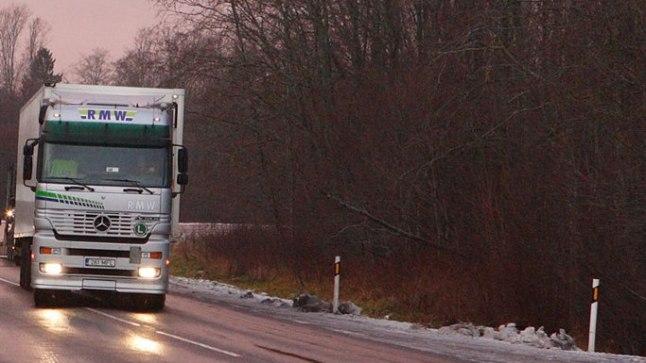 Paldiski maantee. Pilt on illustratiivne.