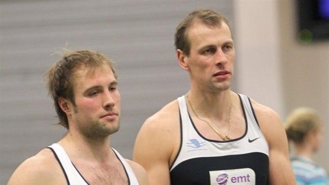 Tõnu Endreksoni (paremal) sõnum on selge: kui Andrei Jämsa (vasakul) neljapaadi meeskonda ei kuulu, siis ei kuulu sinna ka tema