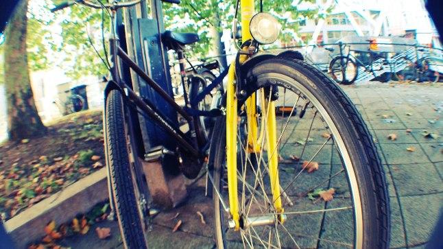 Belgia oma Amsterdam. Jalgrattaid näeb siin kõikidest muudest sõiduvahenditest enim.