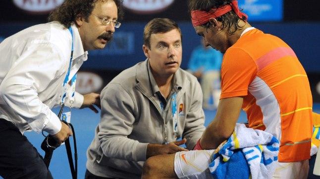 Rafael Nadal ja arstid
