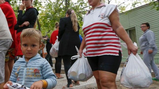 Ukraina põgenikud.