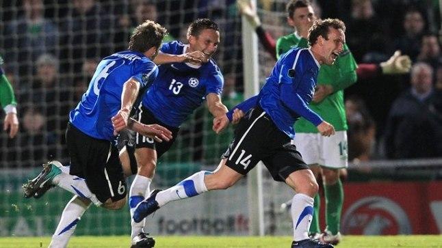 Konstantin Vassiljev sekkus vahetusest ning pööras Eesti 0:1 kaotusseisu 2:1 võiduks.