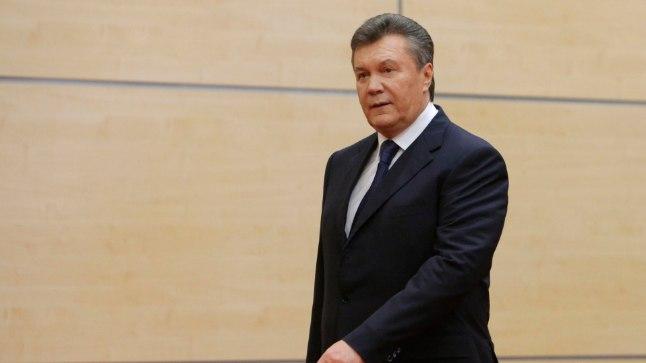 KUKUTATUD PRESIDENT: Viktor Janukovõtš põgenes Kiievist 21.veebruari õhtul ehk täpselt kolm kuud pärast seda, kui riigipea oli teatanud, et ta ei allkirjasta assotsiatsioonilepingut Euroopa Liiduga. Pärast põgenemist on Janukovõtš avalikkuse ees esinenud vaid kaks korda, 28.veebruaril ja 11.märtsil Doni-äärses Rostovis.