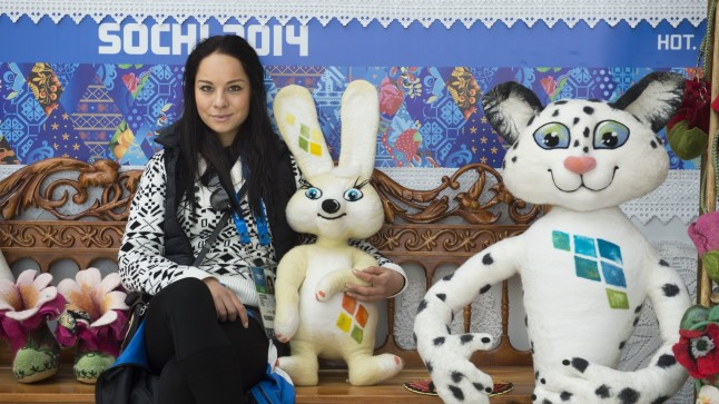 Õhtulehe eksklusiivne fotosessioon Eesti olümpiakoondise suurima lootuse Jelena Glebovaga Sotši olümpiapargis.