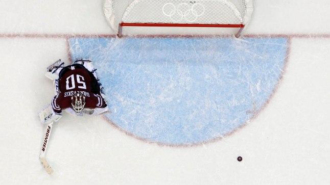 Kanada alistas Läti ja pääses poolfinaali