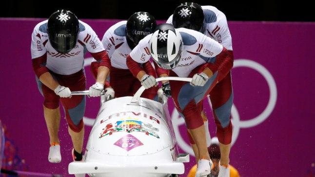 Läti võitis Sotši mängudelt neli medalit, millest viimase eest hoolitses hõbeda pälvinud neljabobi.