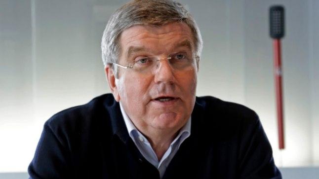 Rahvusvahelise Olümpiakomitee president Thomas Bach.