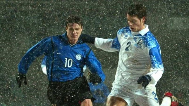 fb2d34537ac Viimati kohtusid Eesti ja Island 2002.a lumisel novembripäeval Tallinnas.  Eesti võitis 2: