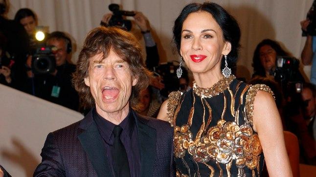 Mick Jagger ja L'Wren Scott.