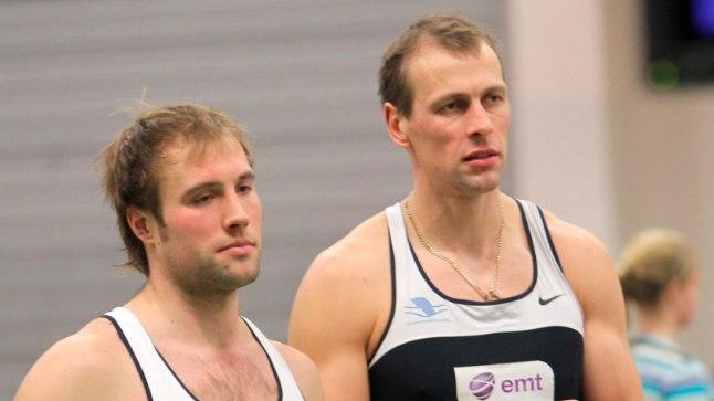 Andrei Jämsä (vasakul) ja Tõnu Endrekson püüavad sel hooajal kahepaadil läbi lüüa.