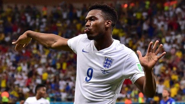 Inglismaa koondise värava lõi 1:2 kaotusmängus Itaaliale Daniel Sturridge.