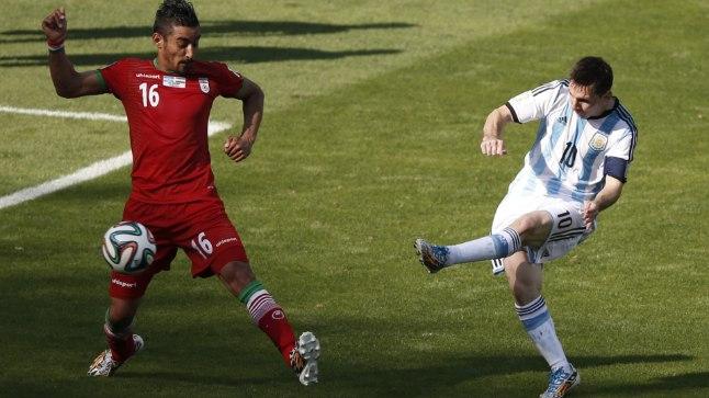 Sellest 91. minuti löögist sündis mängus Iraaniga Argentiina võiduvärav.