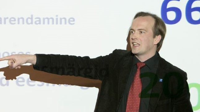 Igor Mang (vasakul), Mart Noorma.